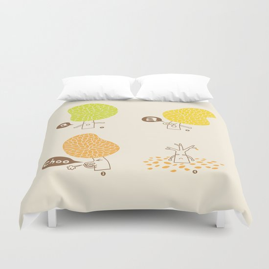 Season sneeze Duvet Cover