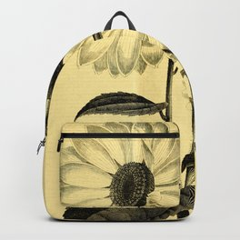 Sunflower Helianthus multiflorus 1891 Backpack