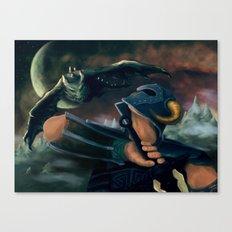 dovahkiin Canvas Print