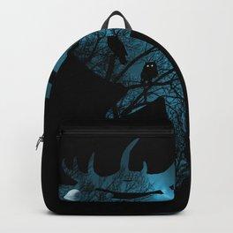 Night Wisdom Elk Backpack