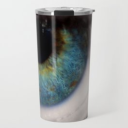 Central Heterochromia Eye Travel Mug