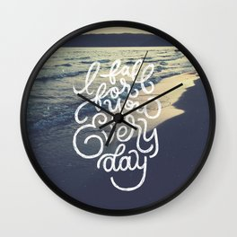 I fall for you everyday Wall Clock