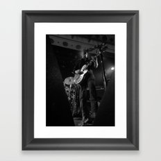 josh homme // queens of the stone age Framed Art Print