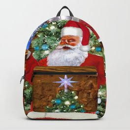 Merry Christmas From Santa Backpack