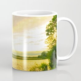 Sunset at the Norfolk Broads Coffee Mug