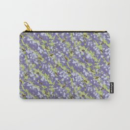 Bees and Wisteria Watercolor Carry-All Pouch