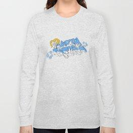 Tarheels - Plain Background Long Sleeve T-shirt