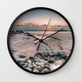 PASTEL SUNSET Wall Clock
