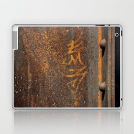 Raw Steel Laptop & iPad Skin