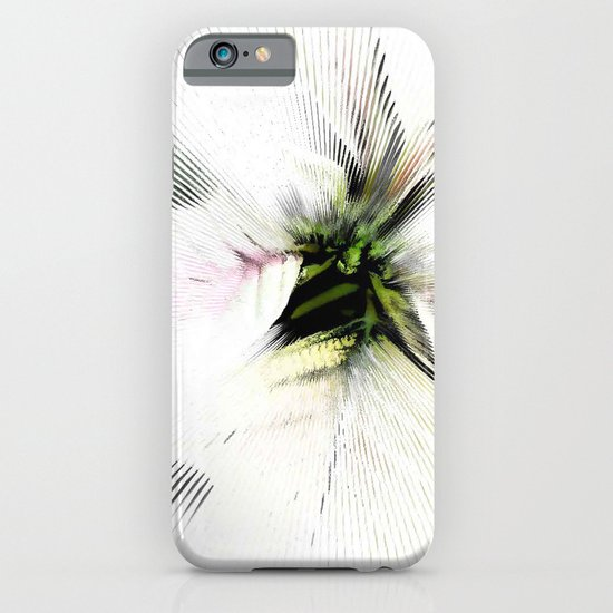 Poinsettia White on White iPhone & iPod Case