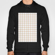 Grid (Bronze/White) Hoody