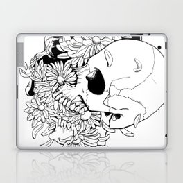 Skull (Pushing Up Daisies) Laptop & iPad Skin