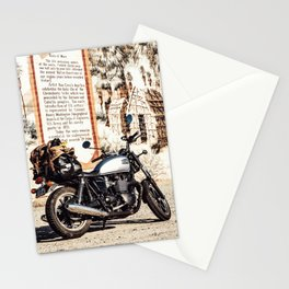 Moto trip Stationery Cards