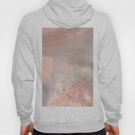 Mother of pearl in rose gold Hoody