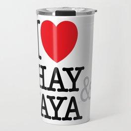 I Heart Shay & Naya Travel Mug