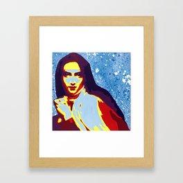 St Teresa Framed Art Print