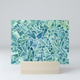 Iced Mosaic Mini Art Print