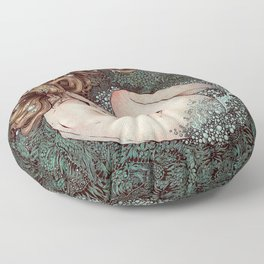 The Birth of Venus Floor Pillow