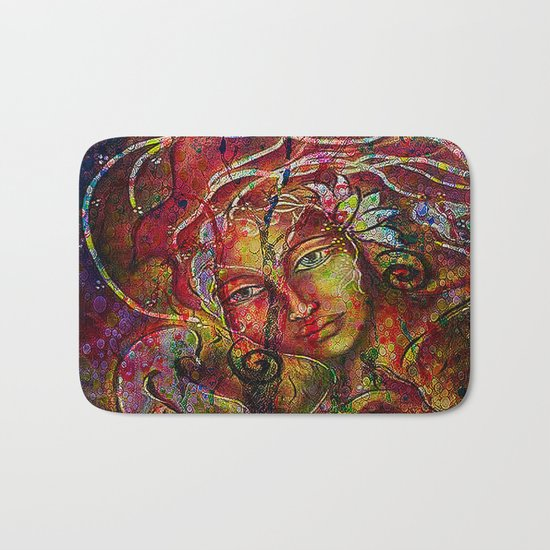 The more we rise and the more we see far. Bath Mat
