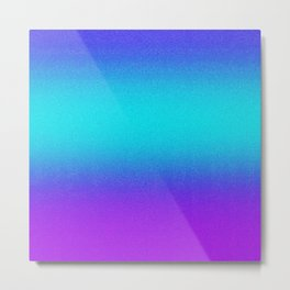 Re-Created Color Field No. 9 by Robert S. Lee Metal Print