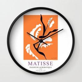 Henti Matisse Danseuse Acrobatique 1949 Artwork for Wall Art, Prints, Posters, Tshirts, Men, Women, Kids Wall Clock