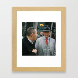 The Gentlemen Framed Art Print