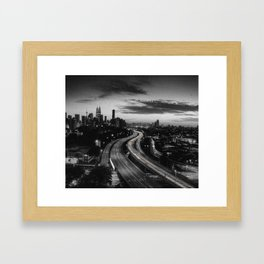 Kuala Lumpur City Centre Framed Art Print