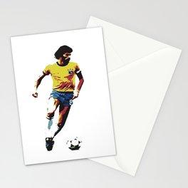 Socrates, Brazilian soccer superman Stationery Cards