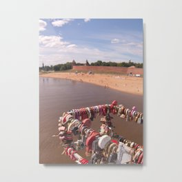 Kremlin Locks of Love Metal Print