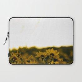 No. 6 Okanagan Sunflowers at Dawn Laptop Sleeve