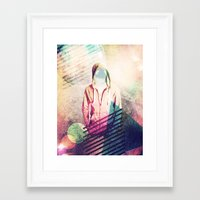 planets Framed Art Prints featuring Planets by Riley Lester