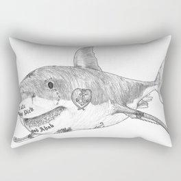 Shark Prank Rectangular Pillow