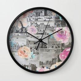 Primavera architettonico Wall Clock