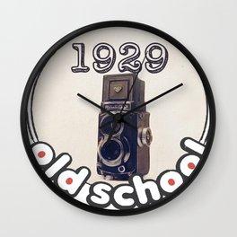 Rolleiflex Old School Wall Clock