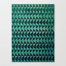 Triangulation Canvas Print