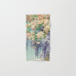 "Eugène Bidau ""The spring (Le printemps)"" (1) Hand & Bath Towel"