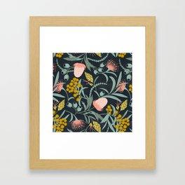 Flora Australis Framed Art Print