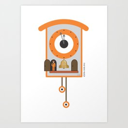 look at the time! Art Print