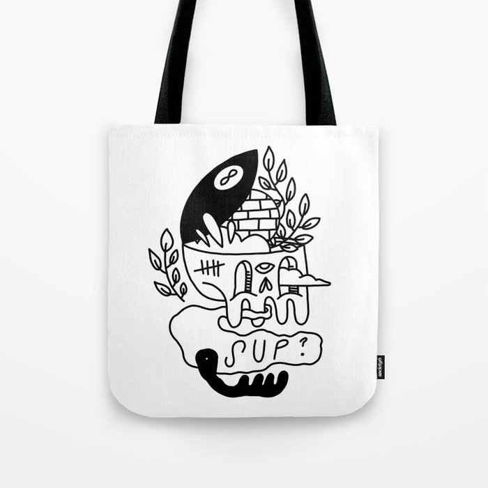 8-Magic-Ball Tote Bag
