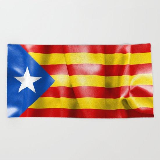 Estelada Flag Beach Towel