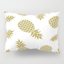 Golden pineapple pattern Pillow Sham