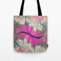 caleb troy Tote Bags featuring Melon Of Troy by RubyJean