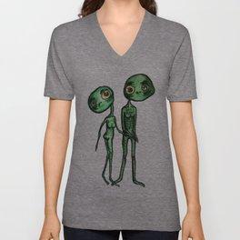 alien lovers Unisex V-Neck