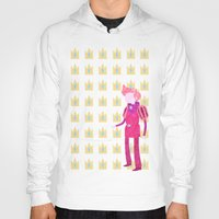 gumball Hoodies featuring Adventure Time - Prince Gumball by LightningJinx