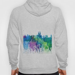 Skyline BARCELONA Colorful Silhouette Hoody