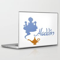 aladdin Laptop & iPad Skins featuring Aladdin by Citron Vert