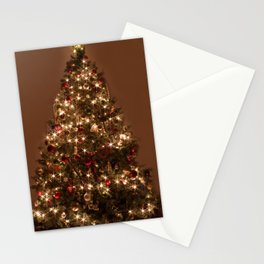 Christmas tree. Stationery Cards