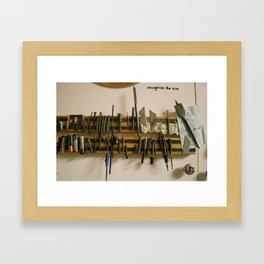 Recognize the Zen. Framed Art Print