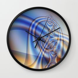 interference tower Wall Clock