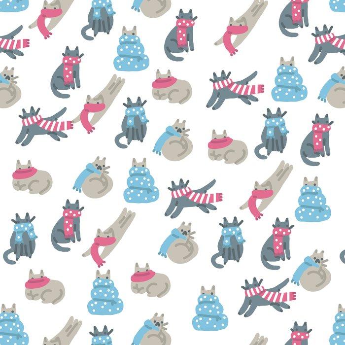 Winter Cats Leggings